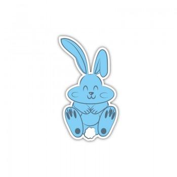 Blue bunny patch
