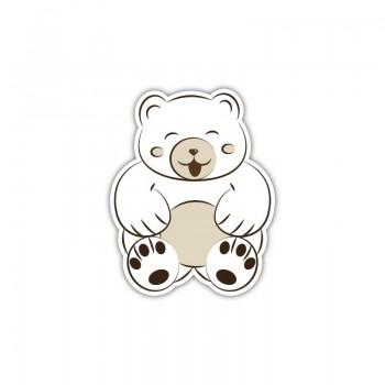 White bear patch