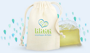 lilititi swaddle in its pouch